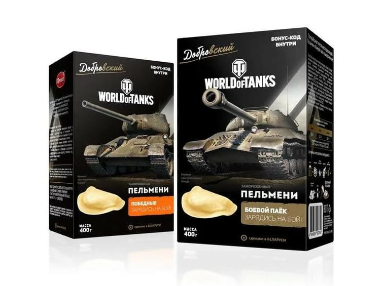 Пельмени World of Tanks
