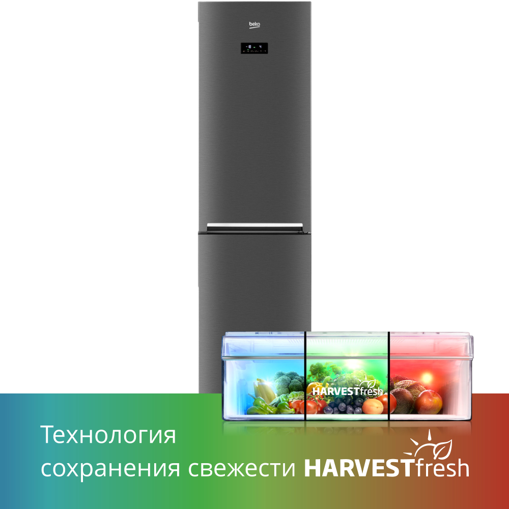 Холодильник Beko RCNK335E20VX