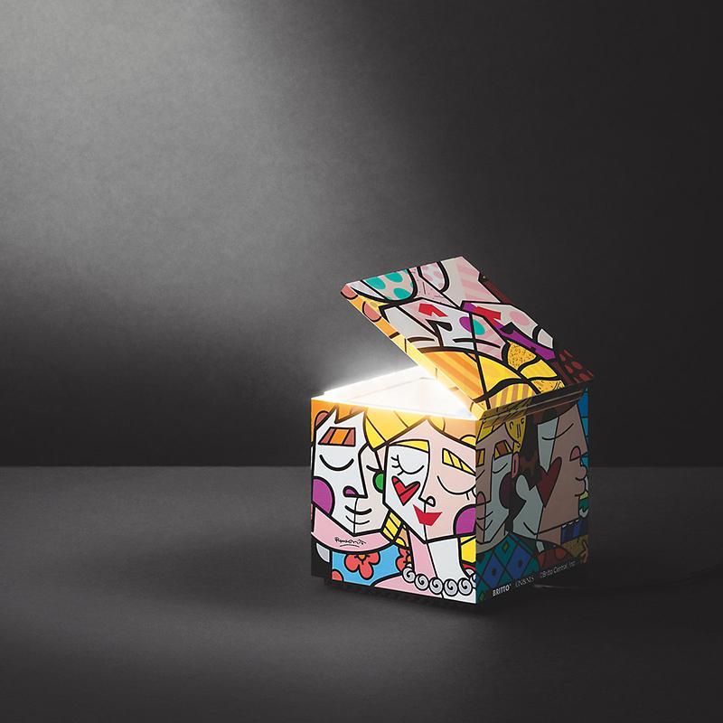 Светильник Cuboluce Britto от Cini&Nils