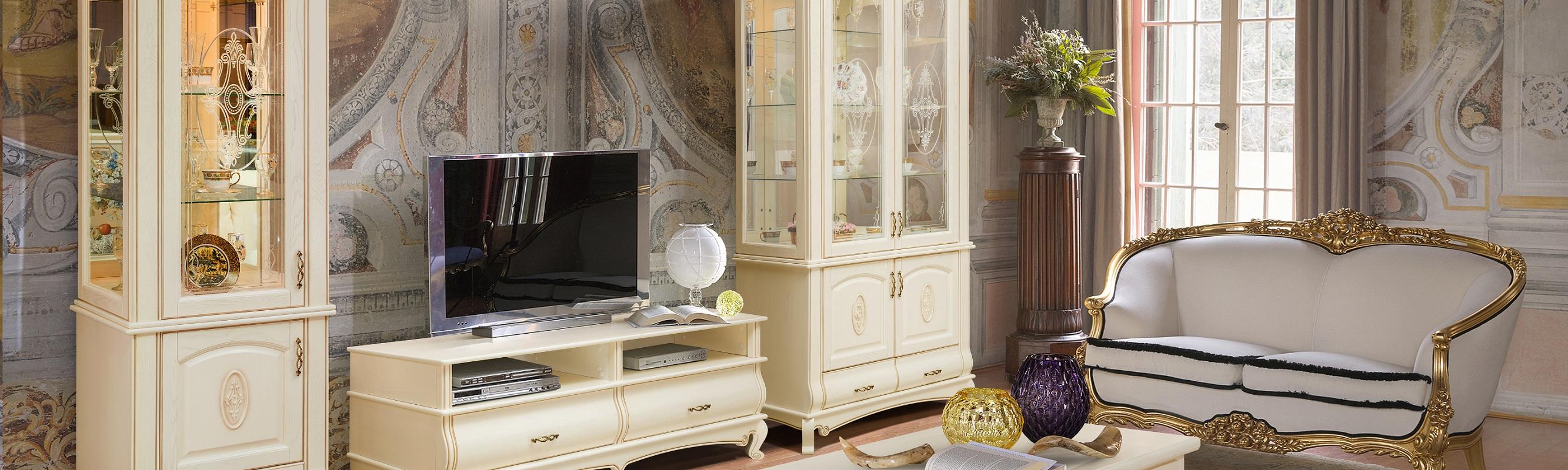 Мебель из массива – гостиные Оскар