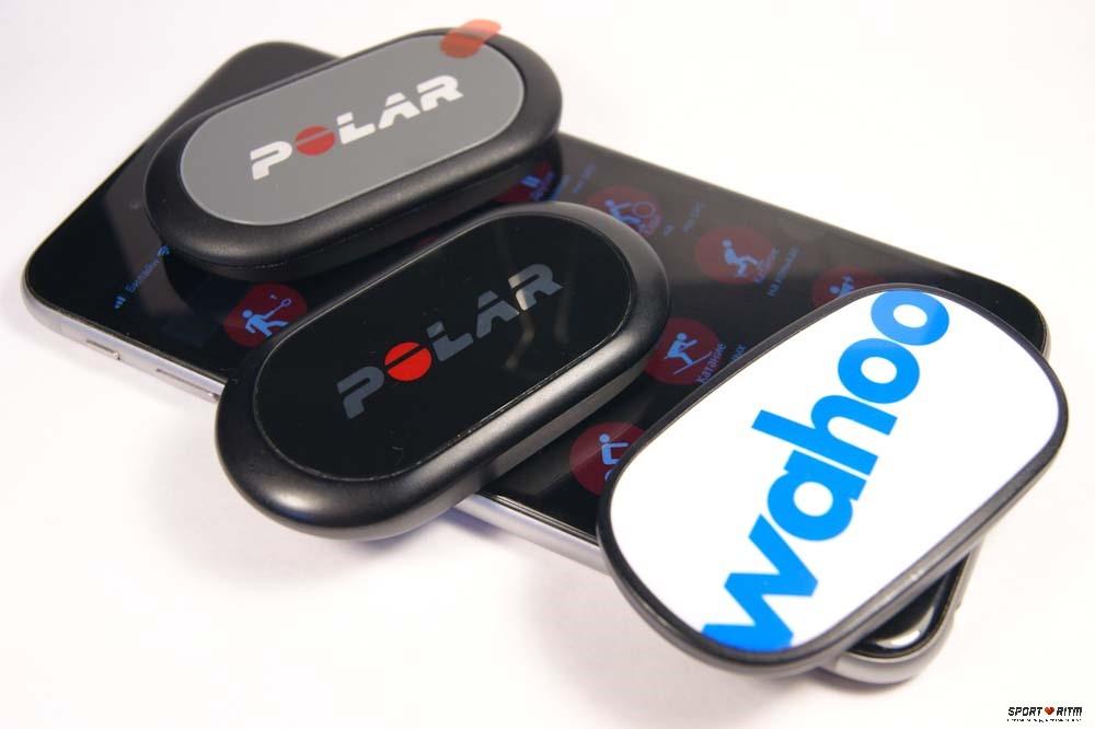 Нагрудный пульсометр для iPhone