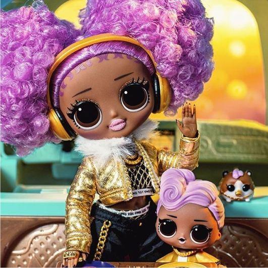 Кукла ЛОЛ O.M.G. Winter Disco Диджей