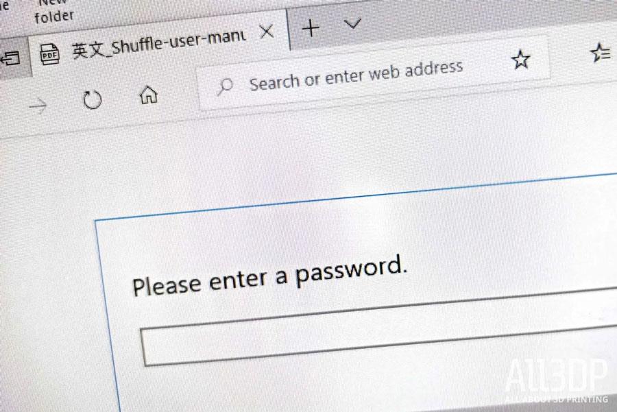 В доступе отказано, введите пароль