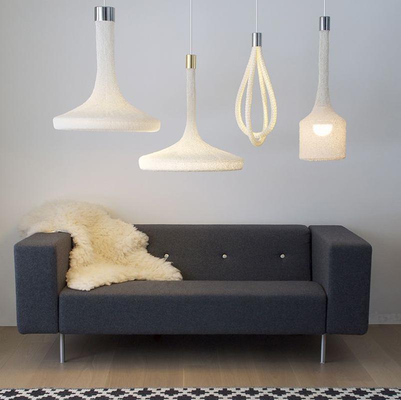 Светильники Loop Lamps от Mottoform