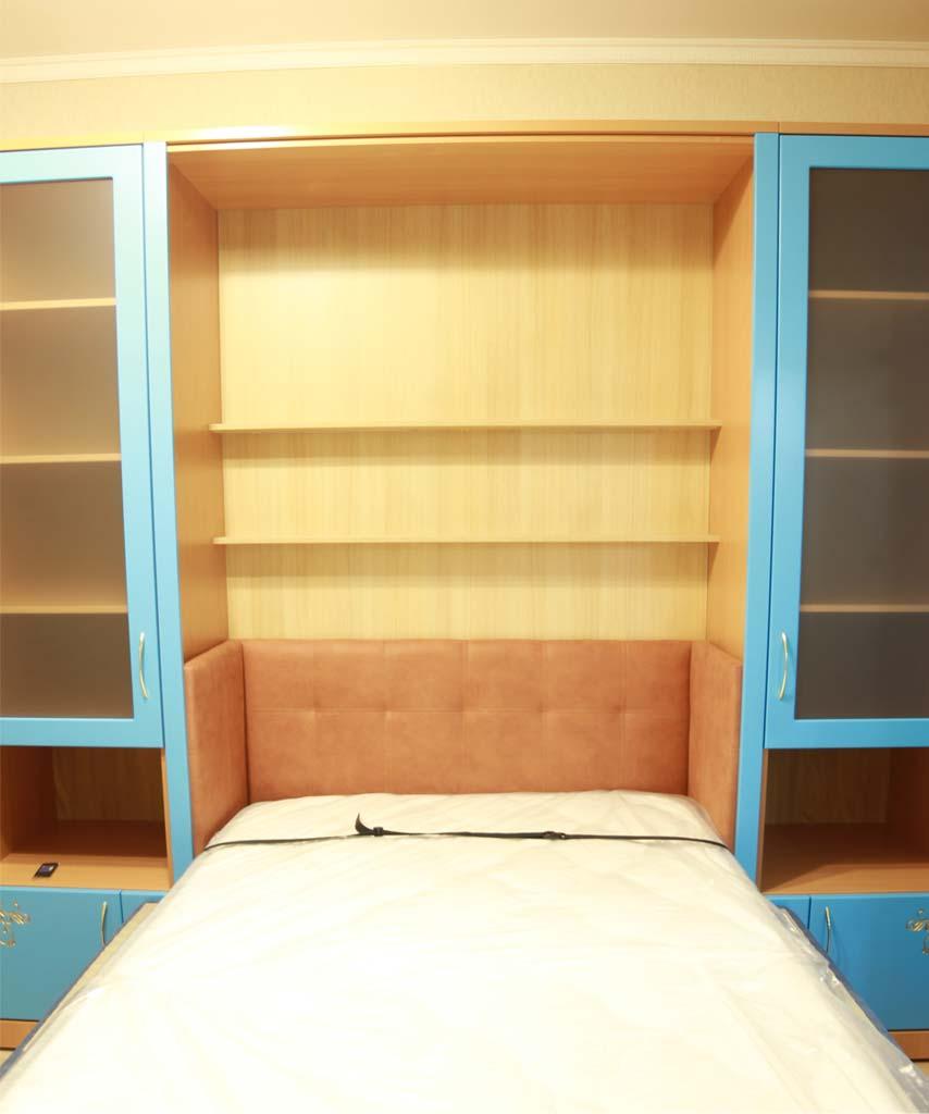 Шкаф-кровать Виктория - очень комфортное оформление спального места