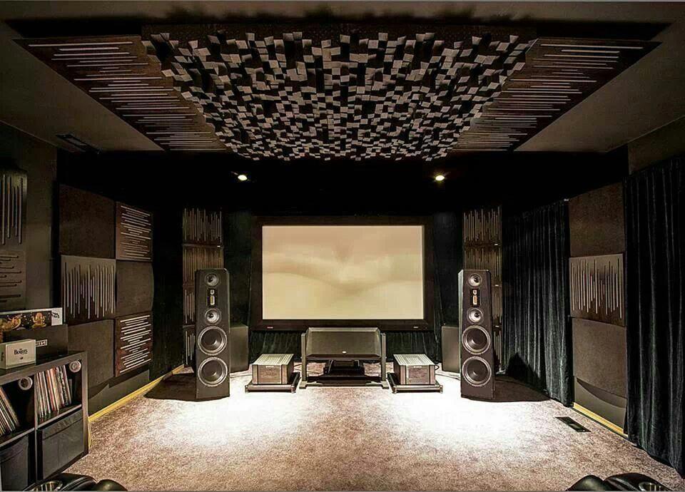 Басовые ловушки для домашнего кинотеатра
