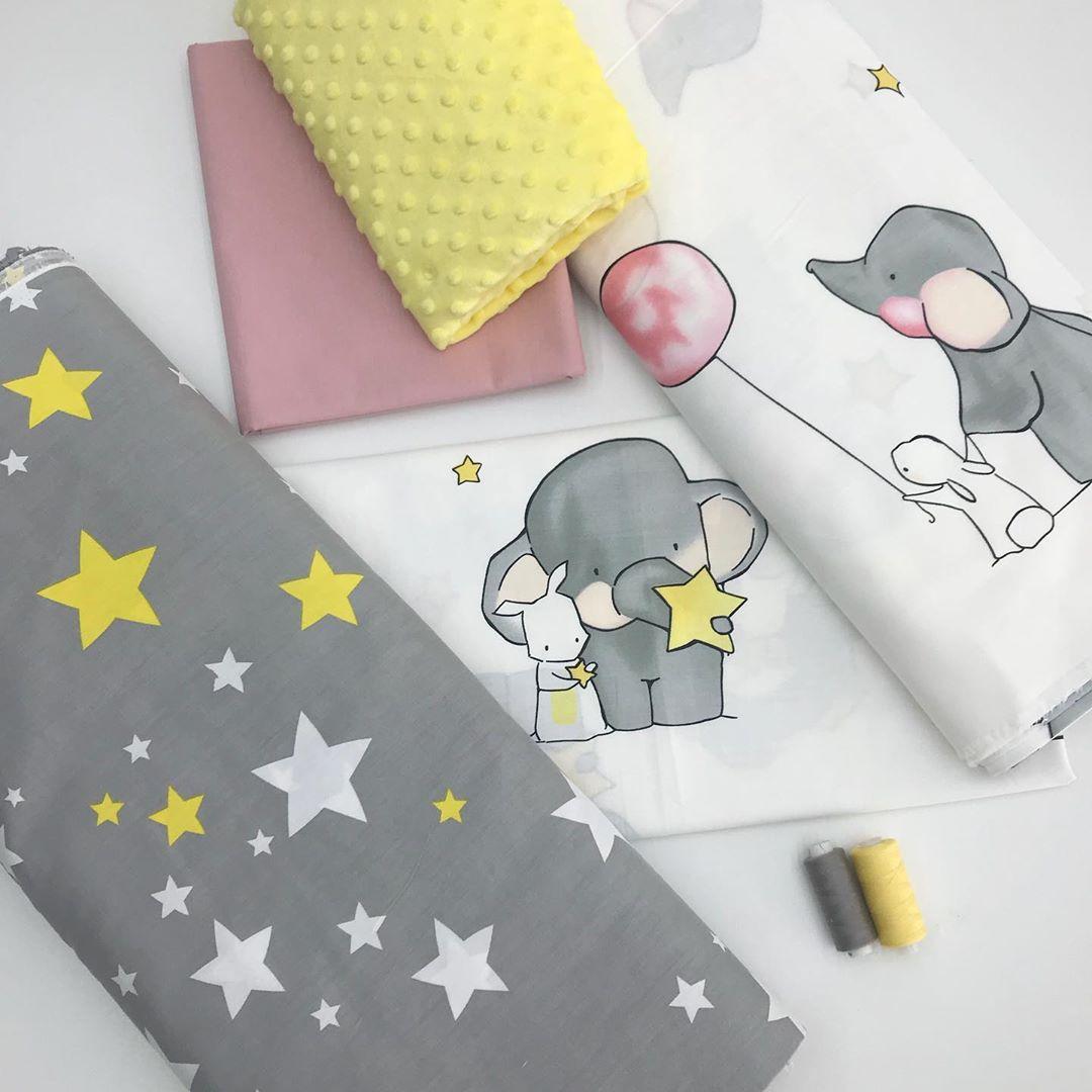 Детские ткани для постельного белья в кроватку