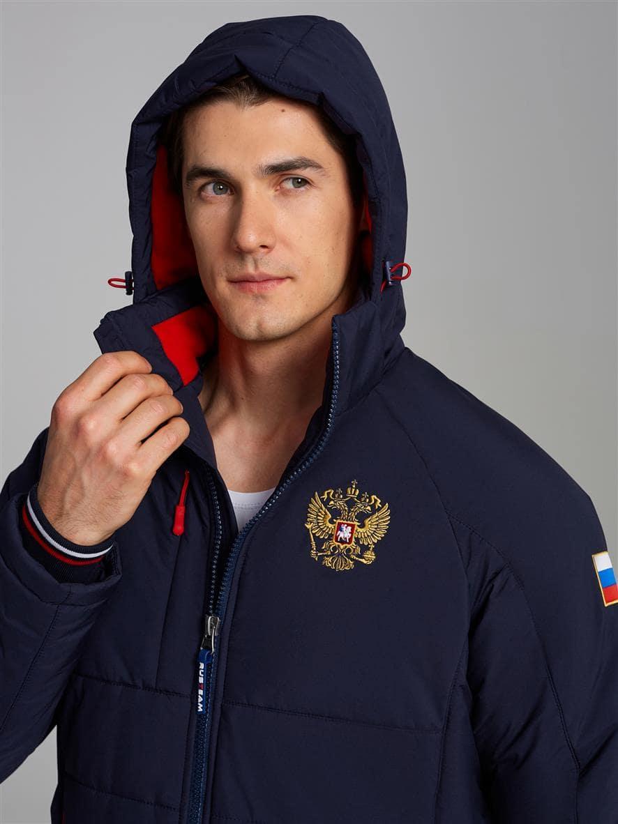 Спортивный костюм мужской RUSSIA 18M-RT-1546 ветрозащита