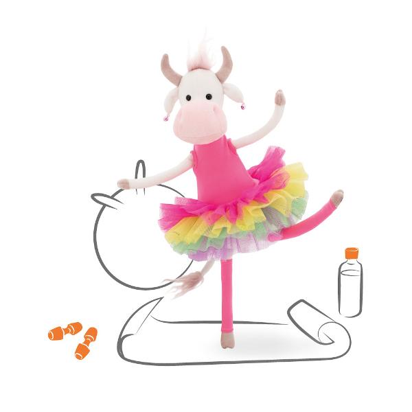 Коровка ФитоНяша Orange Toys, мягкая игрушка