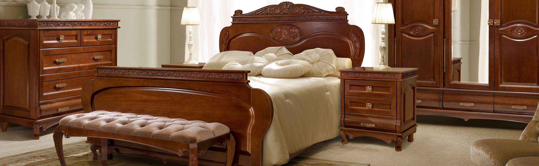 Мебель из натурального дерева – Спальня Флоренция