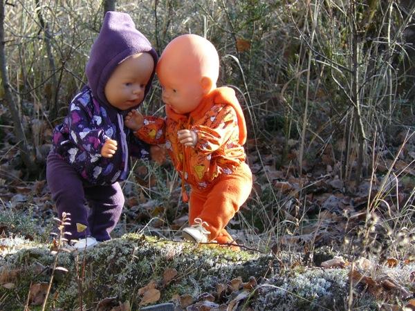 Маленькие разбойники.