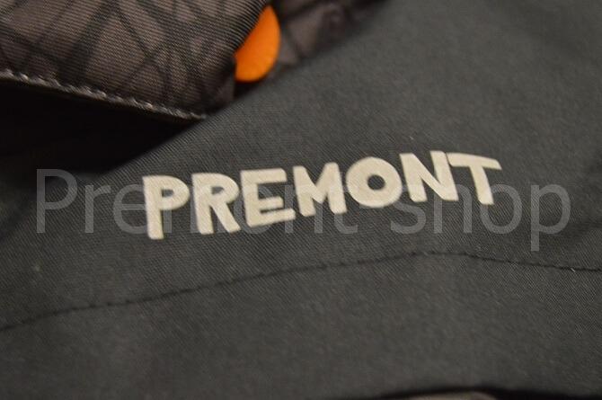 Надпись на комплекте Premont Блэк Графит