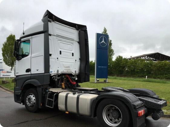 Mercedes-Benz AXOR 1843-EPS 3 фото сбоку