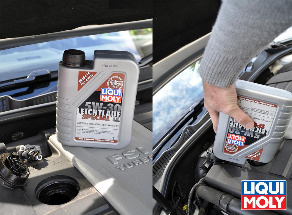 Качественное моторное масло Liqui MOly
