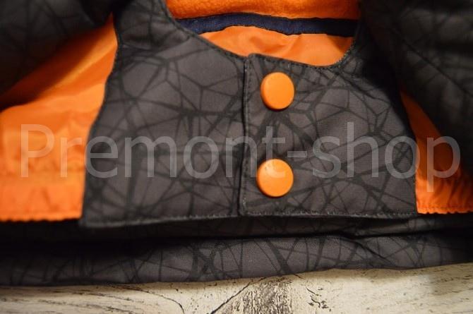 Снегозащитная юбка на комплекте Premont Блэк Графит
