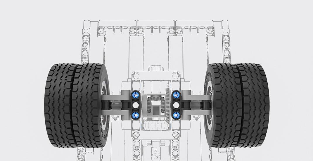 Конструктор MITU Building Blocks Mining Truck