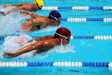 Тренировки профессиональных пловцов