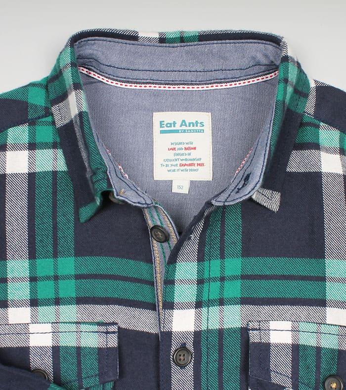 Стильная рубашка подростку 2021