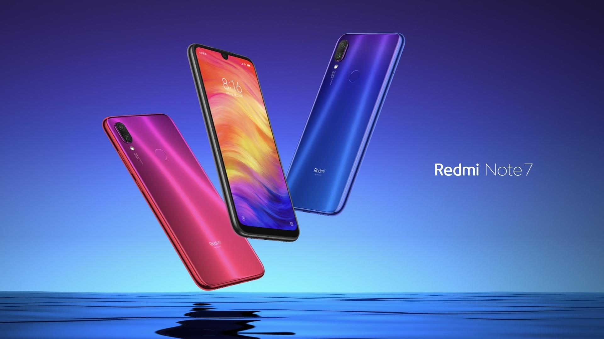 Xiaomi Redmi Note 7 фото
