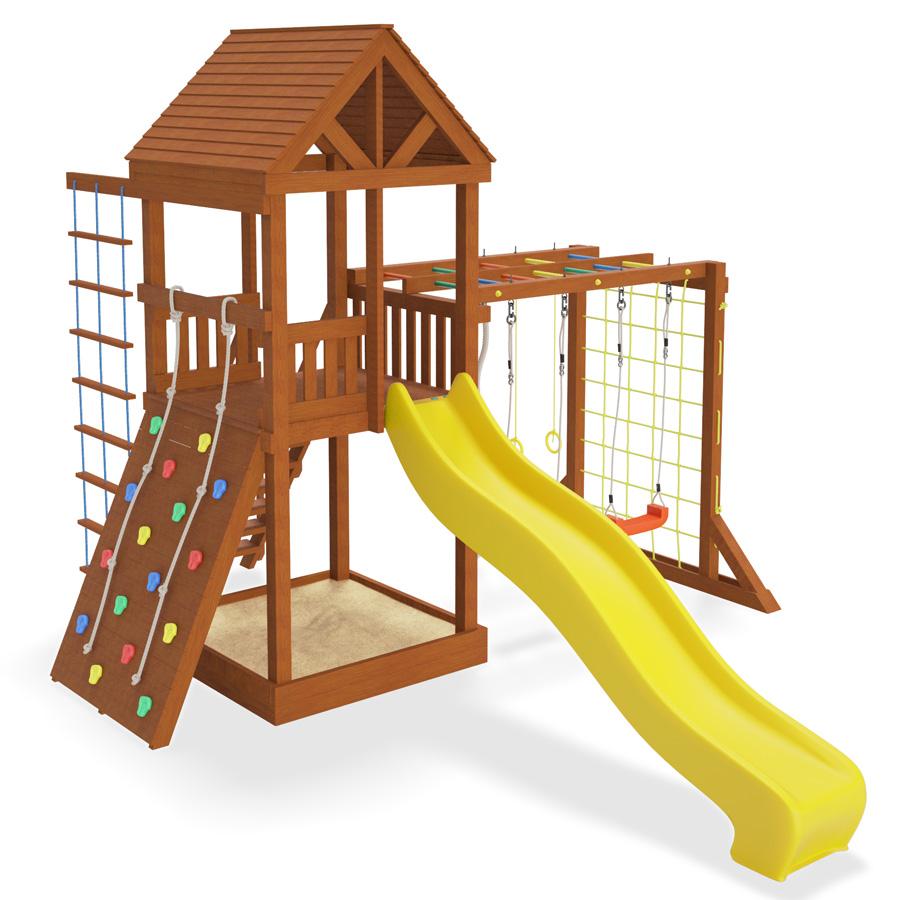 детская игровая площадка маугли