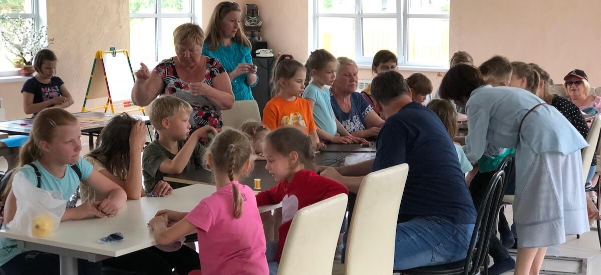 Творческие занятия для детей и взрослых