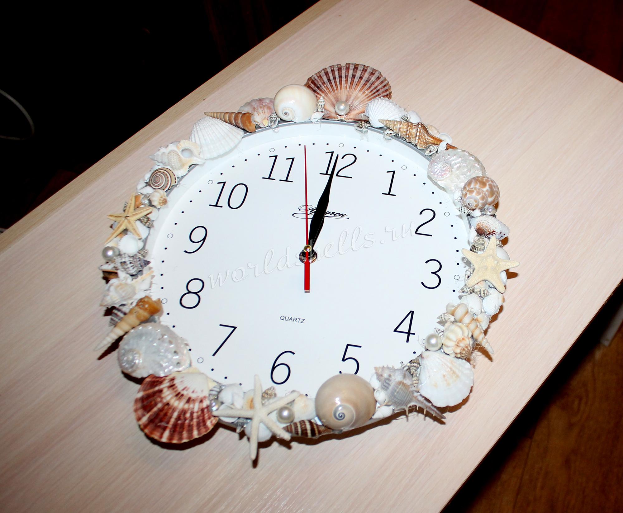 Декоративные часы в морской тематике