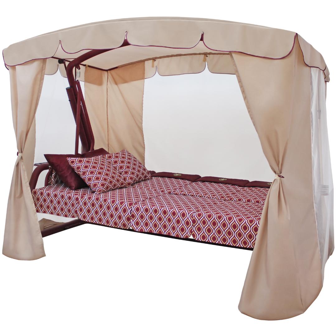 Монарх бордо кровать