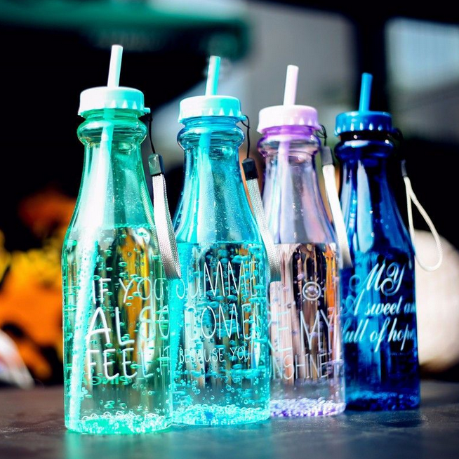 Красивые бутылки