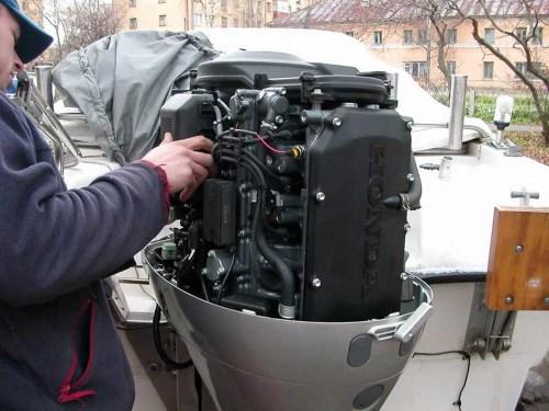 Консервация мотора