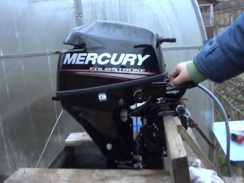 Обкатка лодочного мотора