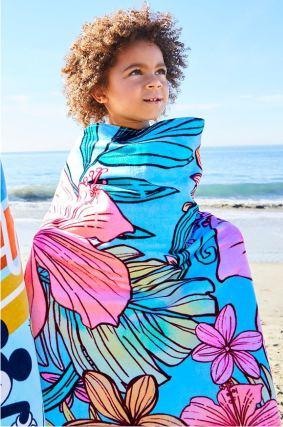 Детское пляжное полотенце - Ариэль