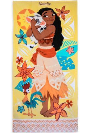 Детское пляжное полотенце - Моана
