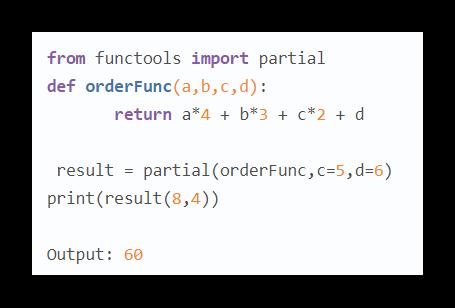 Полный вид кода с partial и конечный результат