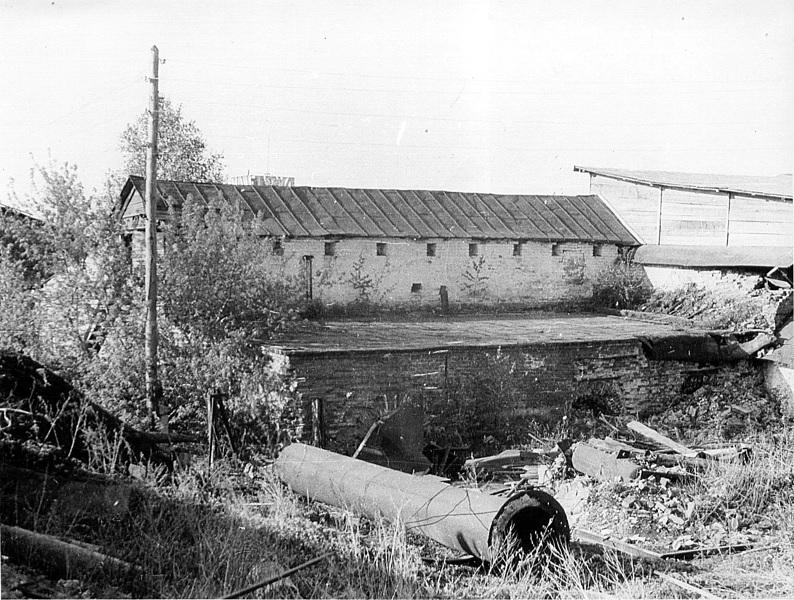 Один из заброшенных корпусов в Сузуне (XIX - начало ХХ века)