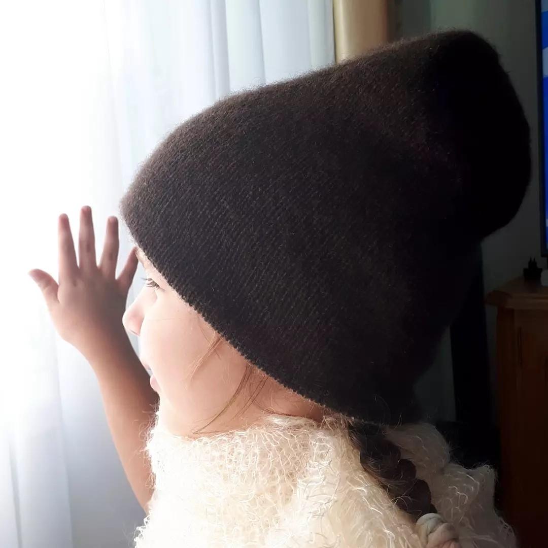 шапка из яка пряжа sarlag