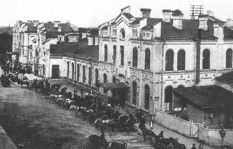 Монетный двор в Гельсингфорсе (вид в 1863-1917 годах)