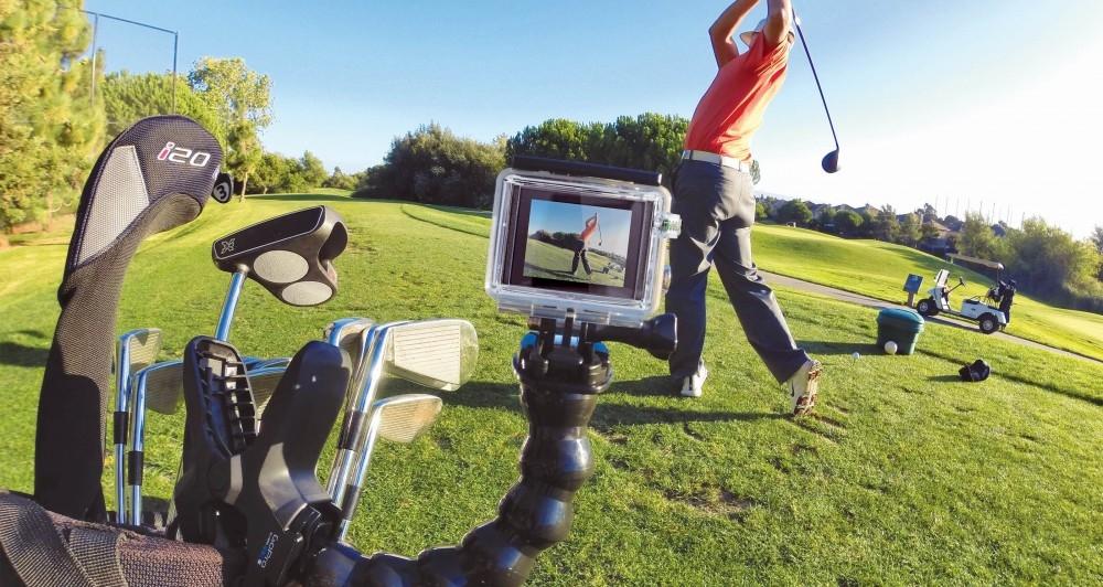 Гибкий держатель для GoPro