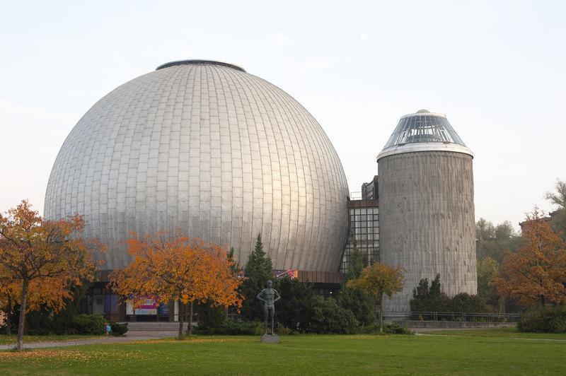 Планетарий дом сфера в Берлине