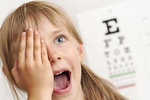 контактные линзы для детей, фото