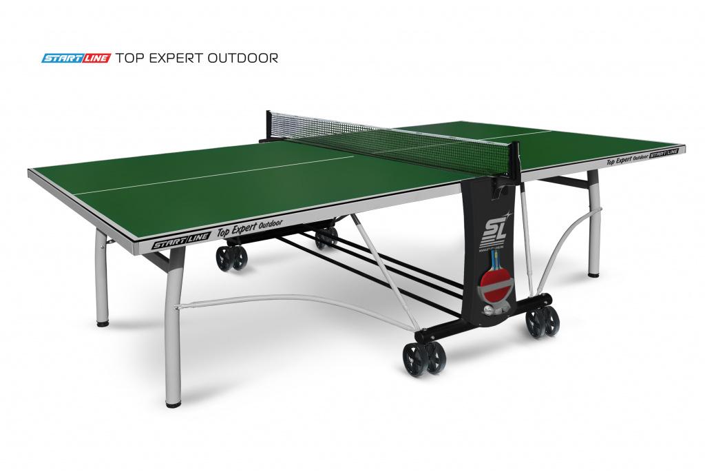 Теннисный стол Start Line Top Expert Outdoor Green