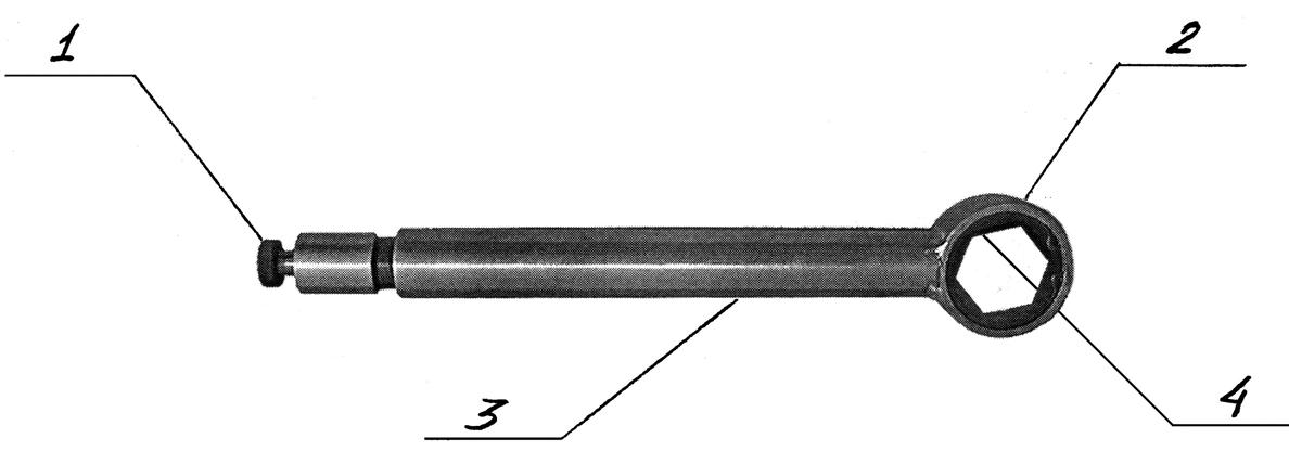 Схема ключа путевого трещоточного реверсивного КПТР-41