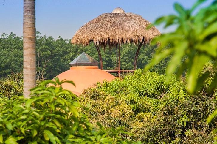 купольный дом в Тайланде