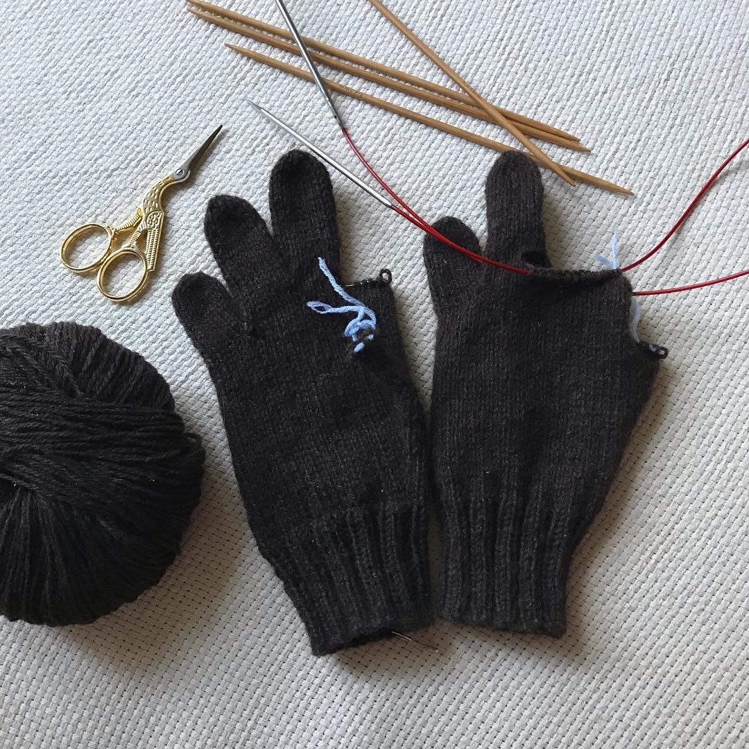 детские перчатки из пуха яка sarlag