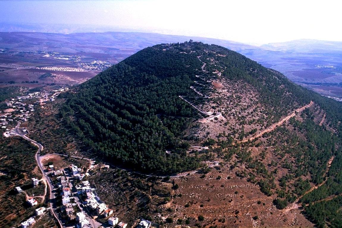 Гора Фавор - место Преображения Спасителя