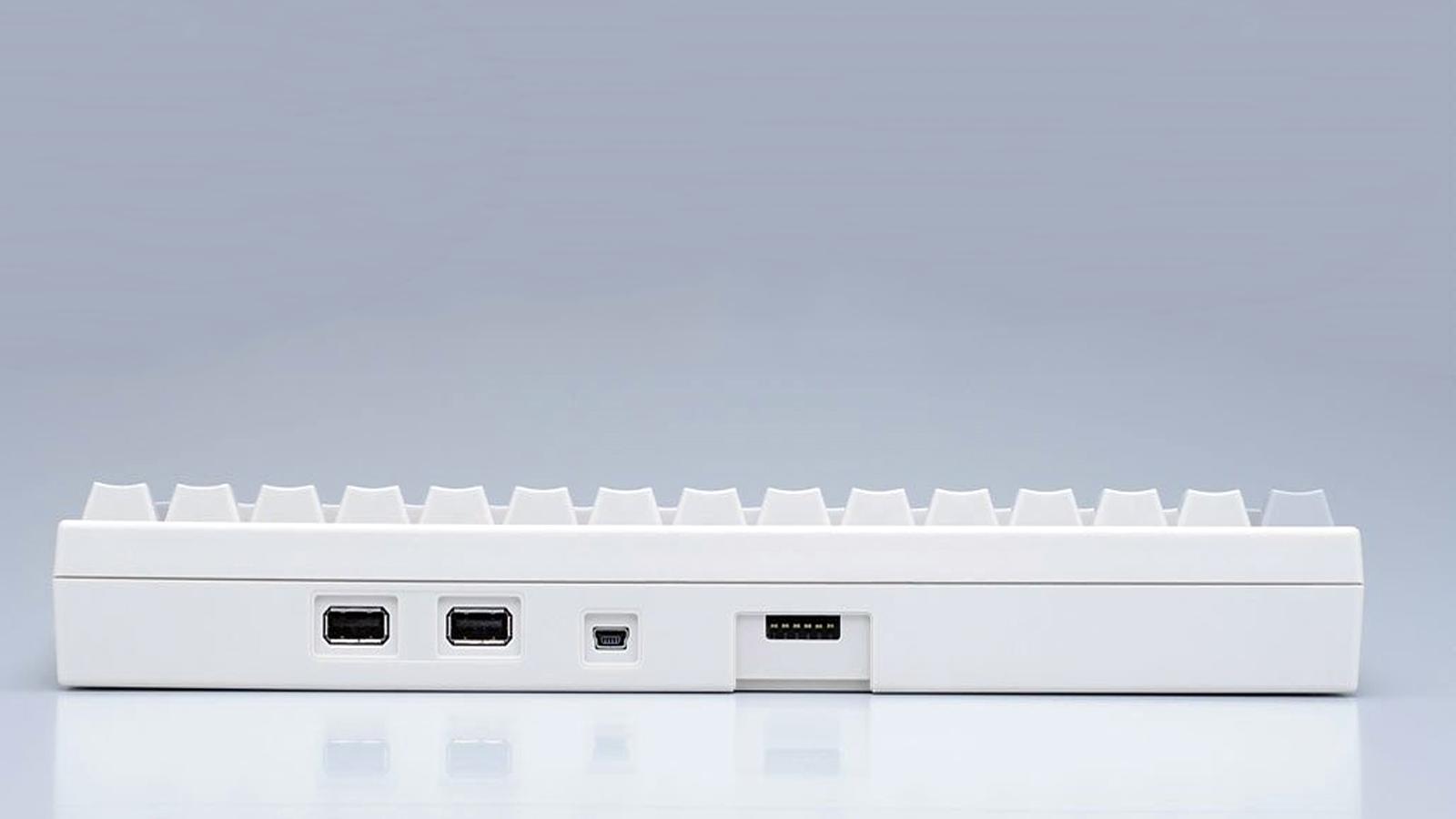 Задняя часть клавиатуры Happy Hacking Keyboard Professional 2 (белый цвет)