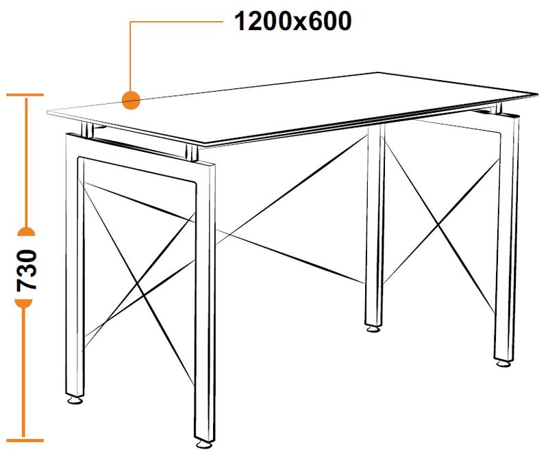 Размеры компьютерного стола WRX-10