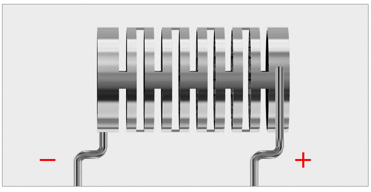 Совершенно Новая Спираль Wismec Notch с Хлопком