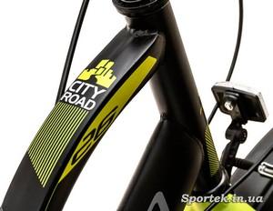 Приклад профілю труб на велосипеді Formula breeze (Формула Бриз)