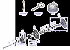 CVTech 800/850 ведущий шкив вариатора Стелс Гепард 800/850