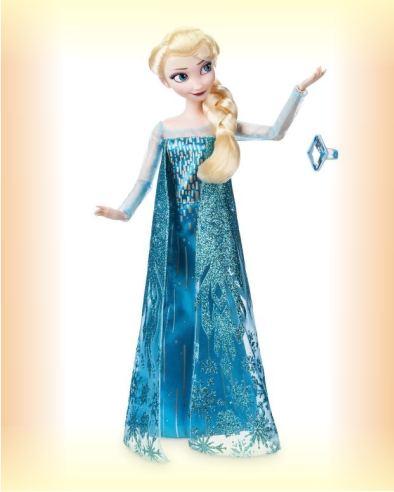 Кукла Эльза с кольцом от Disney из мультфильма Холодное сердце